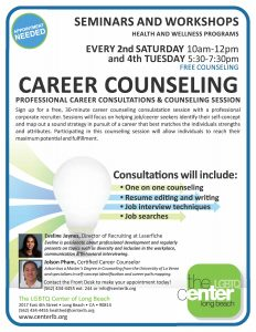 Career Counseling Flyer